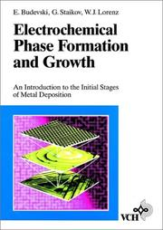 Cover of: Electrochemical phase formation and growth
