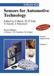 Sensors Applications, Sensors for Automotive Technology (Sensors Applications) by