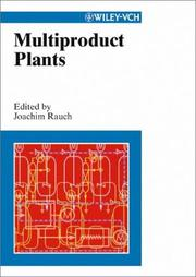 Cover of: Multiproduct plants