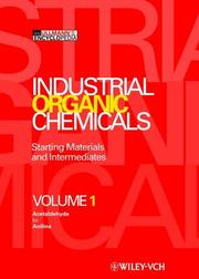 Cover of: Industrial organic chemicals