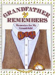 Cover of: Grandfather Remembers | Judith Levy