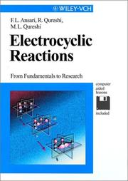 Cover of: Electrocyclic reactions