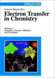 Cover of: Electron transfer in chemistry |