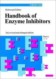 Cover of: Handbook of Enzyme Inhibitors 4-volume set