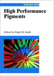 Cover of: High performance pigments |
