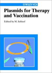 Cover of: Plasmids for therapy and vaccination |
