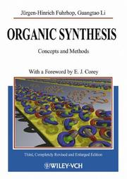 Cover of: Organic Synthesis | Jürgen-Hinrich Fuhrhop