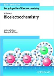Cover of: Bioelectrochemistry |