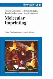 Cover of: Molecular imprinting |