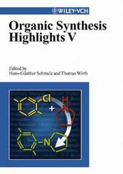 Cover of: Organic Synthesis Highlights V |