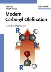 Cover of: Modern Carbonyl Olefination | Takeshi Takeda