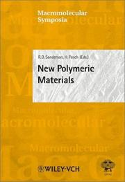 Cover of: New Polymeric Materials |