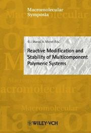 Cover of: Macromolecular Symposia, No. 202 |
