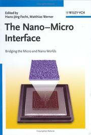 Cover of: The nano-micro interface |