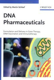Cover of: DNA-Pharmaceuticals | Martin Schleef