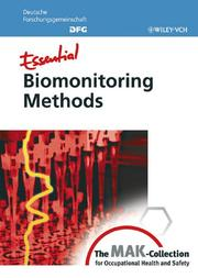 Essential Biomonitoring Methods by
