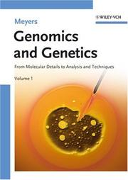 Cover of: Genomics and Genetics | Robert A. Meyers
