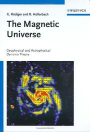 Cover of: The magnetic universe | G. RuМ€diger