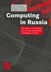 Cover of: Computing in Russia