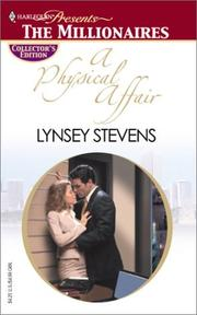 Cover of: A Physical Affair (Harlequin Presents: The Millionaires)