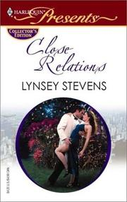 Cover of: Close Relations (Promotional Presents) | Lynsey Stevens
