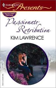 Cover of: Passionate Retribution (Promotional Presents)