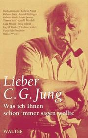 Cover of: Lieber C.G. Jung