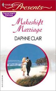 Cover of: Makeshift marriage: the marriage contract