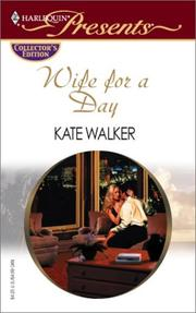 Cover of: Wife For A Day (Promotional Presents)
