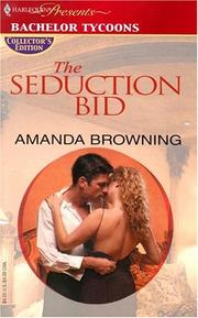 Cover of: The seduction bid