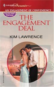 Cover of: The Engagement Deal (Promotional Presents)