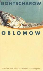 Cover of: Oblomow