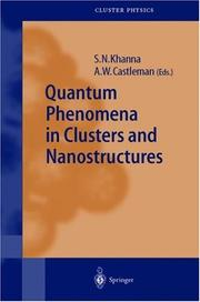 Quantum Phenomena in Clusters and Nanostructures (Springer Series in Cluster Physics) by