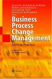 Cover of: Business process change management |