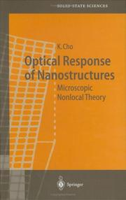 Cover of: Optical Response of Nanostructures | Kikuo Cho
