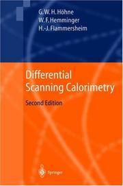 Differential scanning calorimetry by G. Höhne