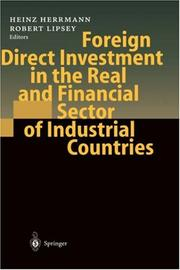 Foreign Direct Investment in the Real and Financial Sector of Industrial Countries by