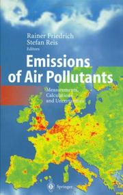 Cover of: Emissions of Air Pollutants |