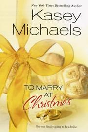 Cover of: To marry at Christmas