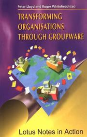Cover of: Transforming Organisations Through Groupware |