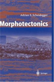 Cover of: Morphotectonics