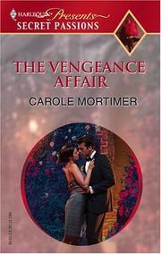 The Vengeance Affair (Secret Passions)
