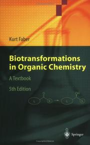 Cover of: Biotransformations in Organic Chemistry