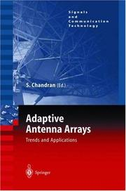 Cover of: Adaptive Antenna Arrays | Sathish Chandran