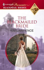 Cover of: The Blackmailed Bride (Promotional Presents)