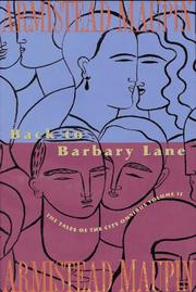 Cover of: Back to Barbary Lane