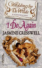 Cover of: I Do, Again (Weddings By Dewilde) (Weddings by Dewilde)