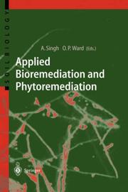 Cover of: Applied bioremediation and phytoremediation