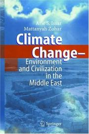 Cover of: Climate change: environment and civilization in the Middle East