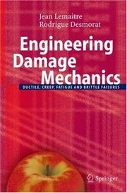 Cover of: Engineering damage mechanics